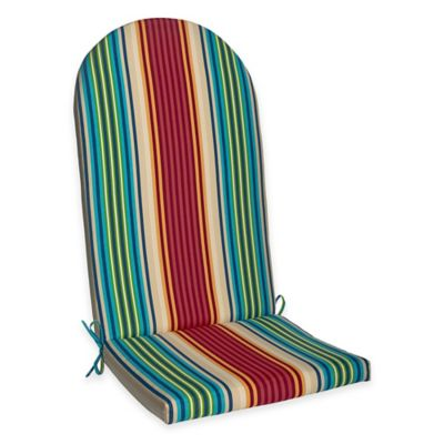 Adirondack Chair Cushion in Modern Stripe