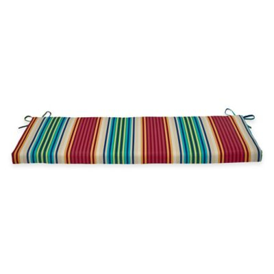 Bench Seat in Modern Stripe