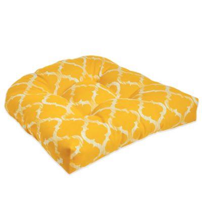 Enhance Waterfall Chair Pad in Yellow