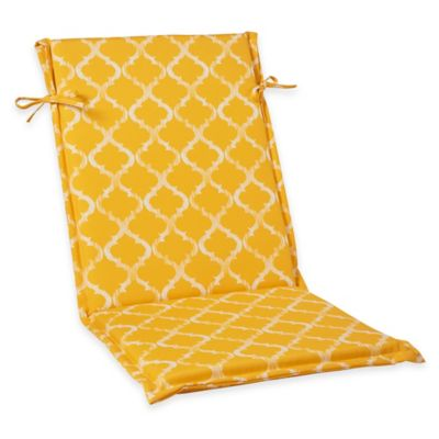 Enhance Sling-Back Cushion in Yellow