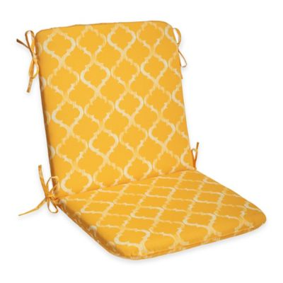 Enhance Mid-Back Cushion in Yellow
