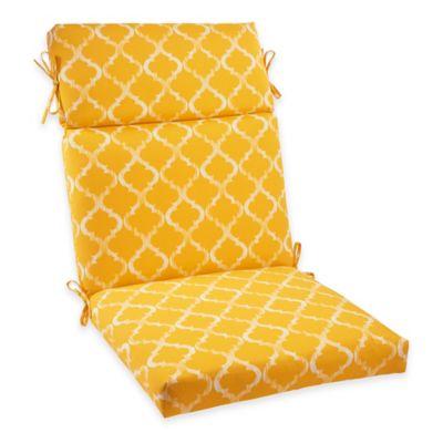 Enhance High-Back Cushion in Yellow