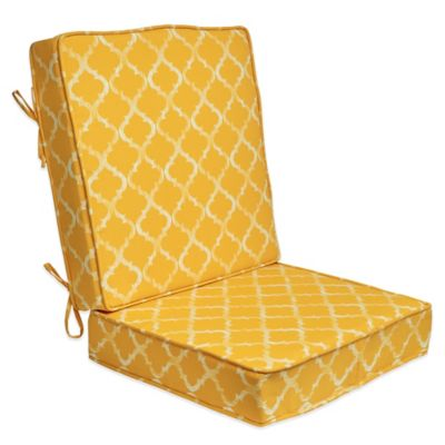 Yellow Deep-Seat Cushion