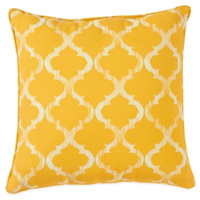 Enhance Outdoor 17-Inch Throw Pillow in Yellow