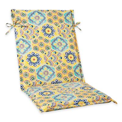 Kennett Sling Back Cushion in Yellow