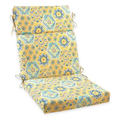 Kennett Highback Cushion in Yellow