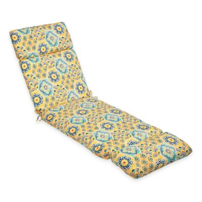 Kennett Chaise Cushion in Yellow