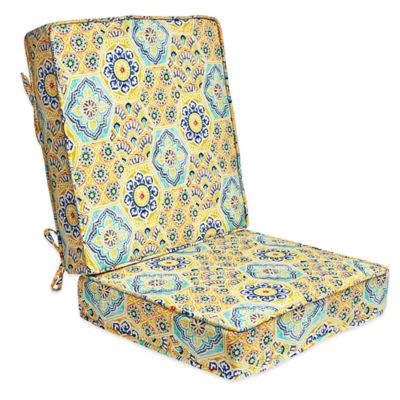 Kennett 2-Piece Deep-Seat Cushion in Yellow