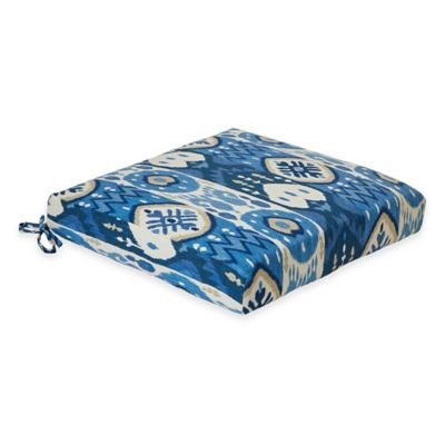 Kachina Dining Cushion in Indigo