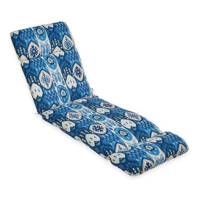 Kachina Chaise Cushion in Indigo