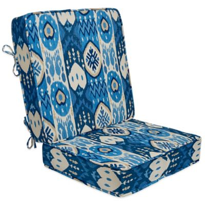 Kachina 2 Pc. Deep-Seat Cushion in Indigo