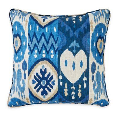 Kachina 17-Inch Throw Pillow in Indigo