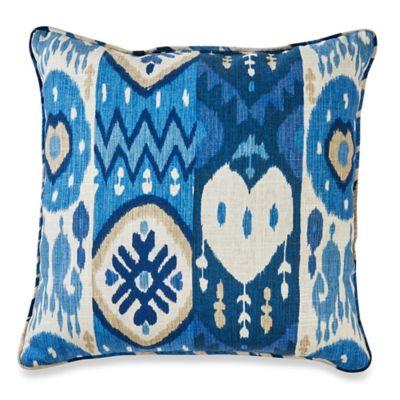Kachina 20-Inch Throw Pillow in Indigo
