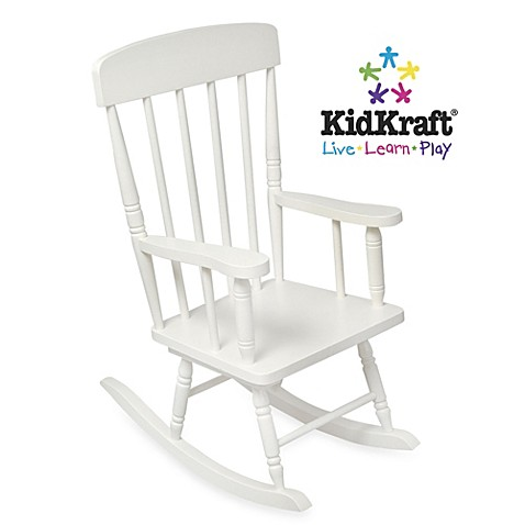 KidKraft Spindle White Rocking Chair Bed Bath Beyond