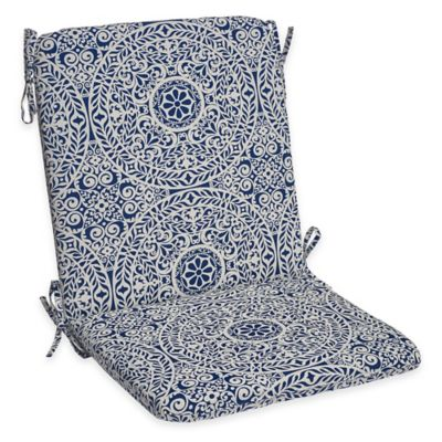 Tachenda Mid Back Cushion in Indigo