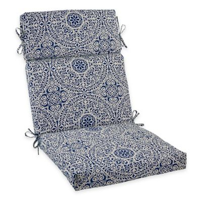 Tachenda High Back Cushion in Indigo
