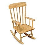 Kidkraft® Spindle Natural Rocking Chair