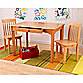 Kidkraft® Avalon Honey Table and Chairs Set