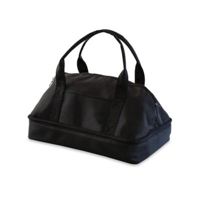 Picnic Time Potluck Casserole Tote in Black
