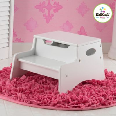Kidkraft® Step N' Store in White