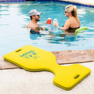 Super Soft® Lazy Bunz Pool Saddle in Yellow
