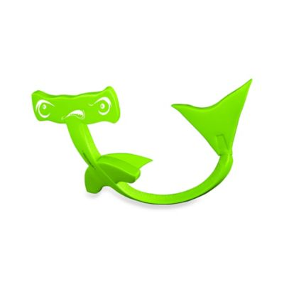 Super Soft® Flipper Dipper™ Hammerhead Shark in Kool Lime Green