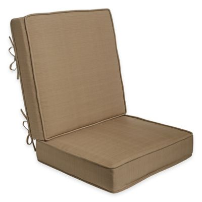 2-Piece Deep Seat Cushion in Camel