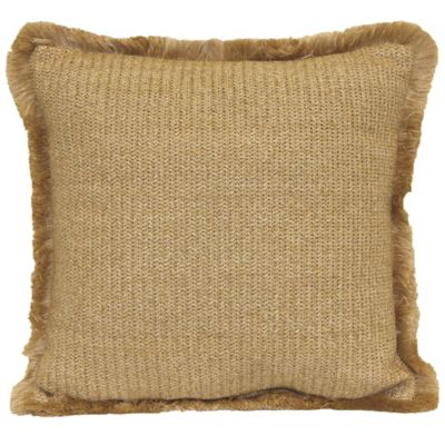 Hermosa Throw Pillow in Natural