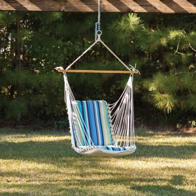 Pawleys Island® Stripe Print Cushioned Single Swing