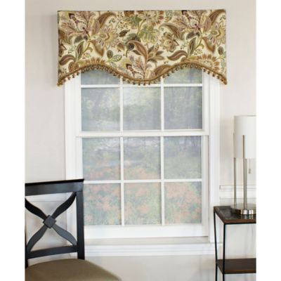 RL Fisher Jacobie Cornice Window Valance in Vintage