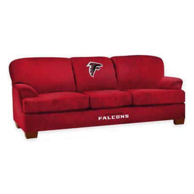 NFL Atlanta Falcons Microfiber First Team Sofa