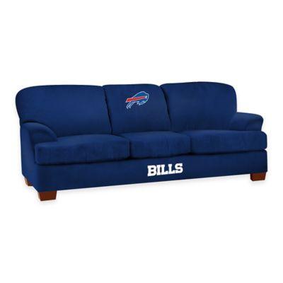 NFL Buffalo Bills Microfiber First Team Sofa