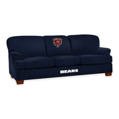 NFL Chicago Bears Microfiber First Team Sofa