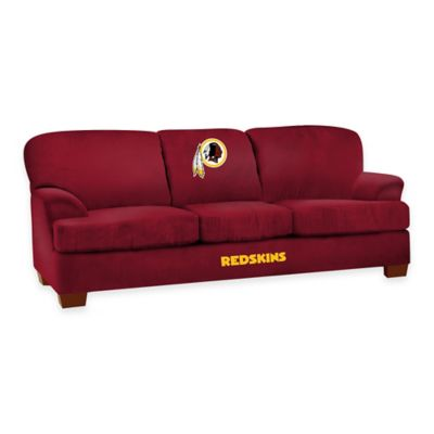 NFL Washington Redskins Microfiber First Team Sofa