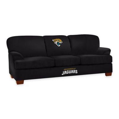 NFL Jacksonville Jaguars Microfiber First Team Sofa