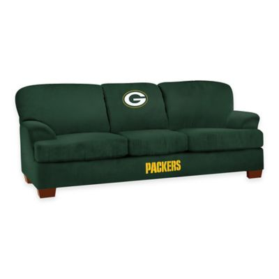 NFL Green Bay Packers Microfiber First Team Sofa