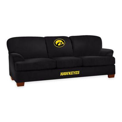 University of Iowa First Team Microfiber Sofa