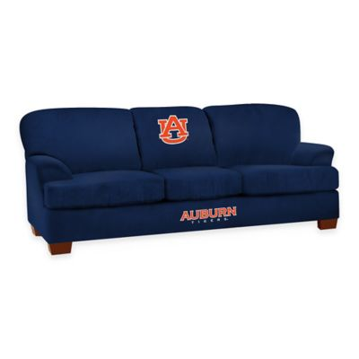 Auburn University First Team Microfiber Sofa
