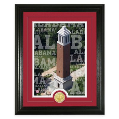 "University of Alabama ""Campus Traditions"" Bronze Coin Photo Mint"