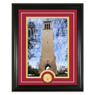 "Iowa State University ""Campus Traditions"" Bronze Coin Photo Mint"