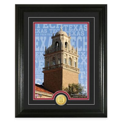 """Texas Tech University """"Campus Traditions"""" Bronze Coin Photo Mint"""