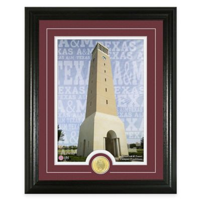 "Texas A&M University ""Campus Traditions"" Bronze Coin Photo Mint"