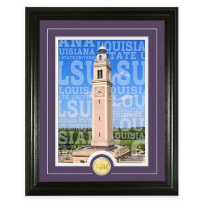 """LSU """"Campus Traditions"""" Bronze Coin Photo Mint"""