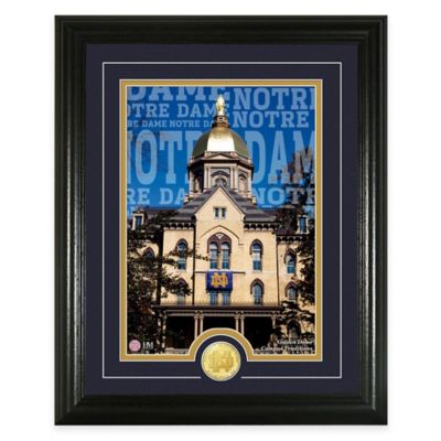 "University of Notre Dame ""Campus Traditions"" Bronze Coin Photo Mint"