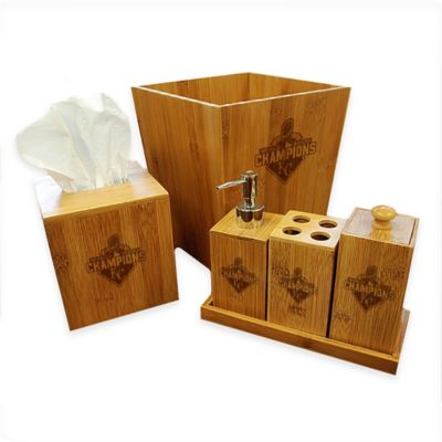 MLB Kansas City Royals 2015 World Series Champions 6-Piece Bath Ensemble Set