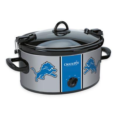NFL Detroit Lions Crock-Pot® Cook & Carry™ 6-Quart Slow Cooker
