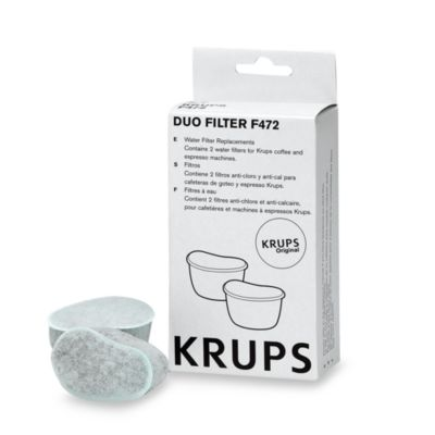 Krups® Duo Filter Water Filters (Set of 2)