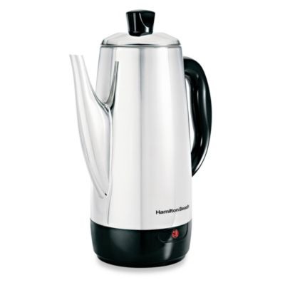 Hamilton Beach® Stainless Steel 12-Cup Percolator