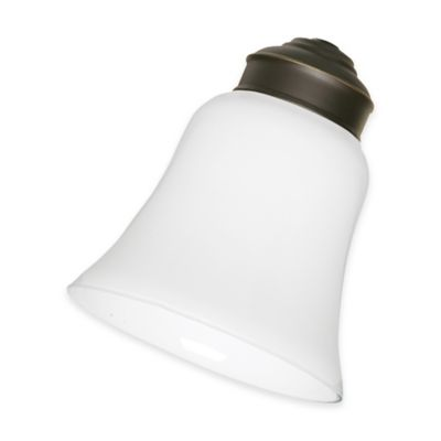 Emerson 2.25-Inch Glass Shade in White