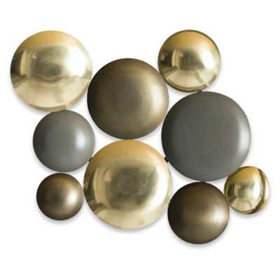 Metallic Wall Hanging Plates